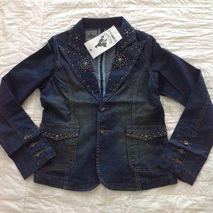 BB Jeans denim blazer jacket